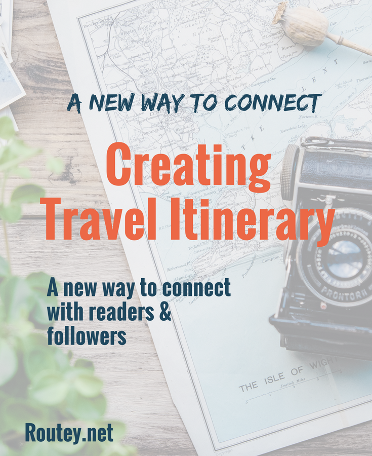 travel blogger creating city itinerary this is for you